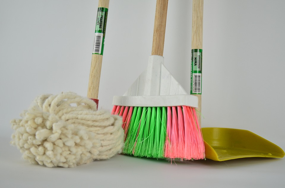 Squeaky Clean: The Mover's Guide to Cleaning your New Home