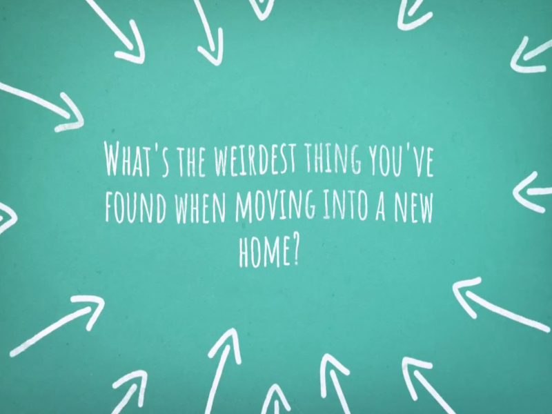 Weird Things People Have Found When Moving into a New Home
