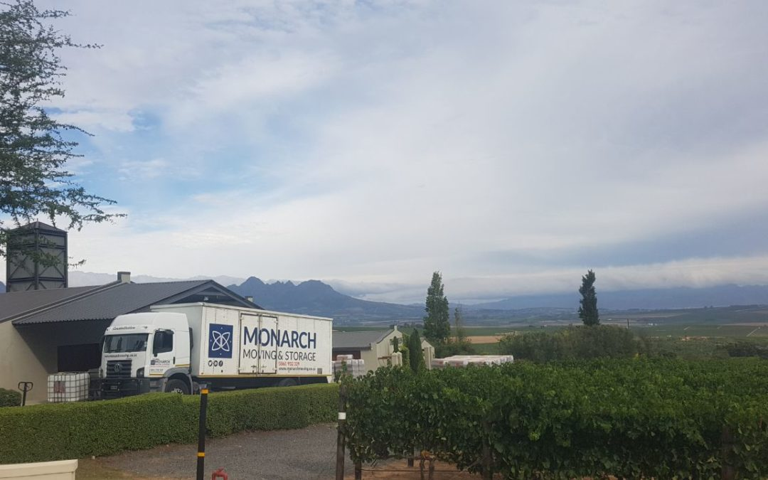 International Relocation from the Stellenbosch Winelands, Western Cape to Estoril, Portugal