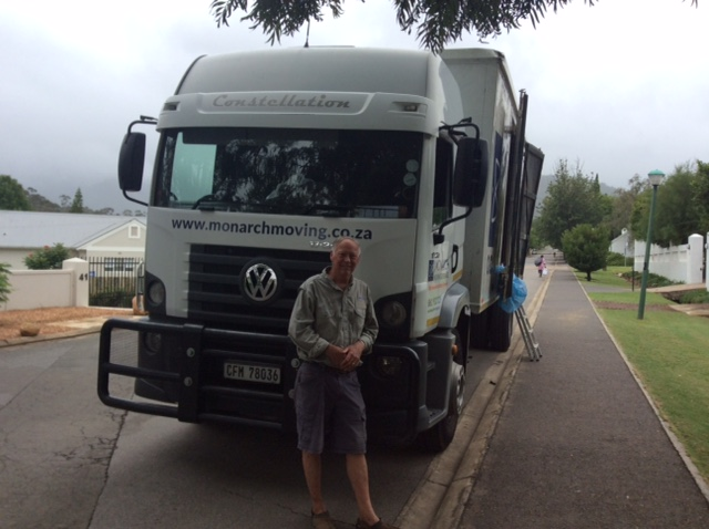 Monarch Moving - International Removal (Mr & Mrs Bobbitt)